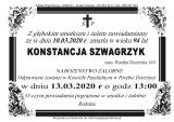 Konstancja Szwagrzyk