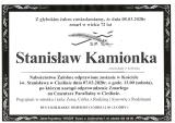 Stanisław Kamionka