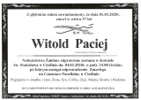 Witold Paciej
