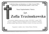 Zofia Trzcionkowska