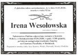 Irena Wesołowska