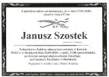 Janusz Szostek