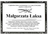 Małgorzata Łaksa