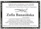 Zofia Banasińska