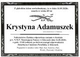 Krystyna Adamuszek