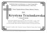 Krystyna Trzcionkowska