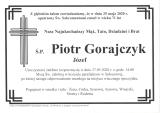 Piotr Gorajczyk