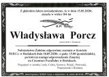 Władysława Porcz