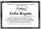 Zofia Reguła