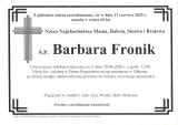 Barbara Fronik