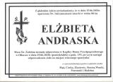 Elżbieta Andraska