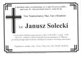 Janusz Solecki