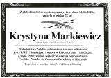 Krystyna Markiewicz