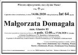 Małgorzata Domagała