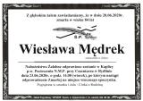 Wiesława Mędrek