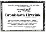 Bronisława Hryciuk