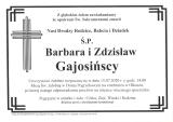 Barbara i Zdzisław Gajosińscy