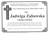 Jadwiga Zabawska