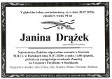 Janina Drążek