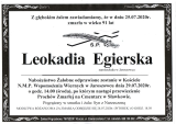 Leokadia Egierska