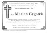Marian Gęgotek