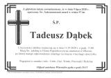 Tadeusz Dąbek