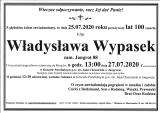 Władysława Wypasek