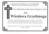 Wiesława Grzebinoga