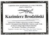 Kazimierz Brodziński