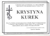 Krystyna Kurek