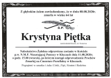 Krystyna Pietka