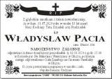 Władysław Pacia