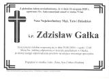 Zdzisław Gałka