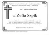 Zofia Szpik