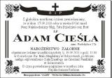 Adam Cieśla