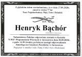Henryk Bąchór