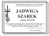 Jadwiga Szarek