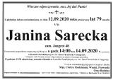 Janina Sarecka