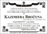 Kazimiera Brożyna