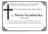 Maria Szymborska