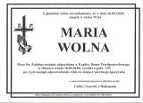 Maria Wolna