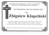Zbigniew Kłapciński