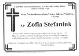 Zofia Stefaniuk
