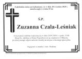 Zuzanna Czala-Leśniak