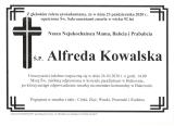 Alfreda Kowalska