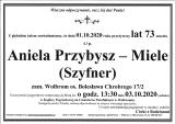 Aniela Przybysz-Miele