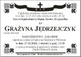 Grażyna Jędrzejczyk