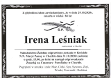 Irena Leśniak
