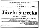 Józefa Sarecka