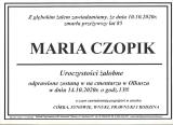 Maria Czopik